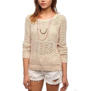 UO | Staring at Stars Crochet Sweater, XS